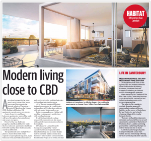 Modern living close to CBD (Telegraph)